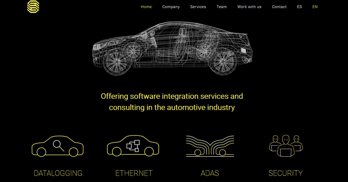 Creacion pagina web para empresa tecnologica en Barcelona · Wordpress