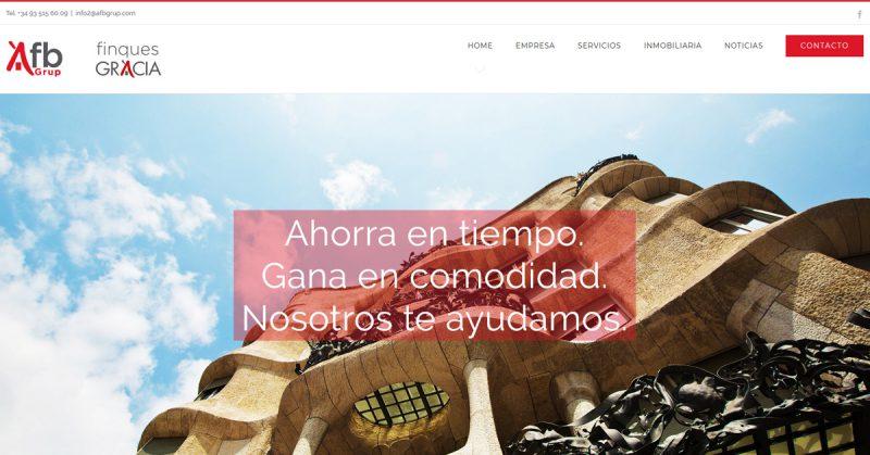 Creacion Pagina web en wordpress con SEO para agencia inmobiliaria en Barcelona