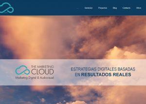 Web de agencia de marketing en Barcelona Wordpress Alocin