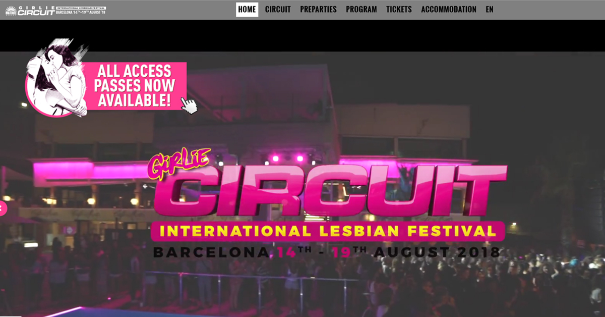 Girlie Circuit, web development Alocin