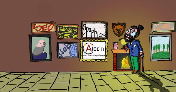 Alocin, draw of my web world
