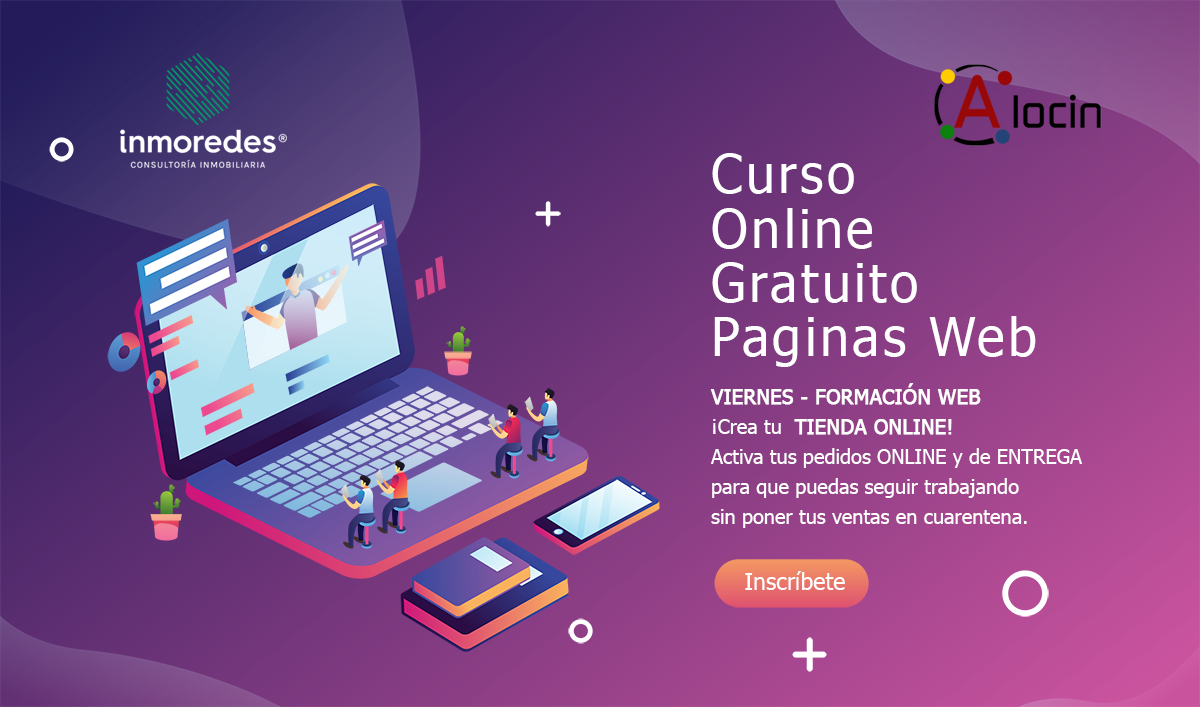Curso Gratuito Creacion Paginas Web WordPress Barcelona
